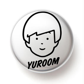 YUROOM 缶バッジ