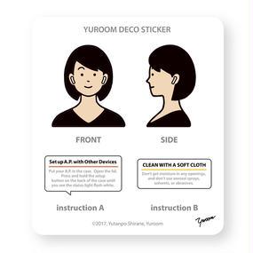 YUROOM DECO STICKER
