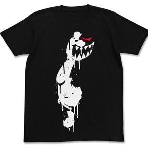 モノクマステンシルTシャツ BLACK L [ダンガンロンパ3 -The End of 希望ヶ峰学園-]