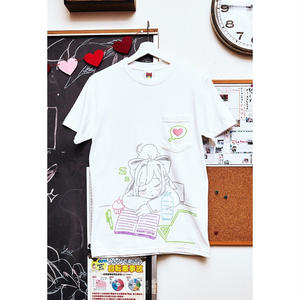 【OMOCAT×DDLC】THINKING ABOUT YOU Pocket T-Shirt