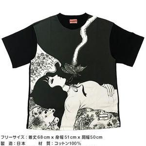 蝶の墓シリーズ グラフィックビッグTシャツ B【楳図かずお】