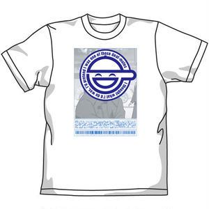 笑い男 Tシャツ WHT  「攻殻機動隊 STAND ALONE COMPLEX」