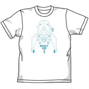 タチコマ Tシャツ WHT 「攻殻機動隊 STAND ALONE COMPLEX」