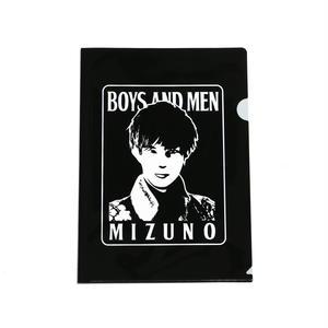 BOYS AND MEN クリアファイル MIZUNO