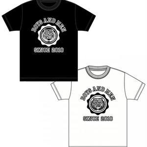 BOYS AND MEN カレッジTシャツ