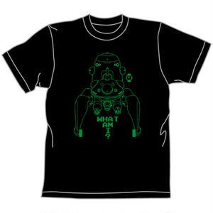 タチコマ Tシャツ BLK 「攻殻機動隊 STAND ALONE COMPLEX」