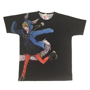 04Tobizbits ゲンゲンフルプリント BIG Tシャツ