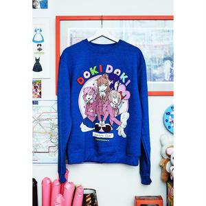 【OMOCAT×DDLC】DOKI DOKI Blue Sweater
