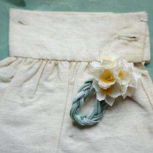 水仙の三つ編み