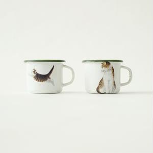 enamel mug/LA TRESSE
