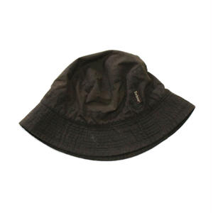 Barbour Wax-Cotton Hat  from family style  #Dk.Brown