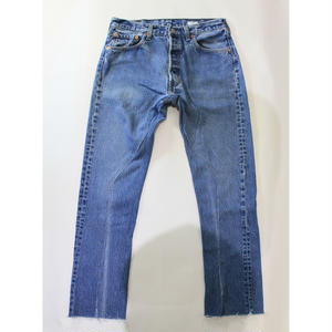 "old park / Slit Jeans  ""Type D"""