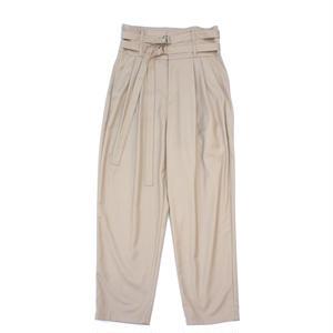 superNova.  / Double Belted Trouser - Gabardine