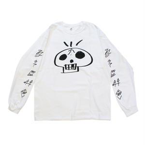 DISKAH + niche. / Skull L/S T-Shirts