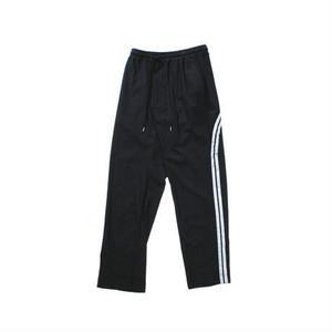 Line track pants #Black