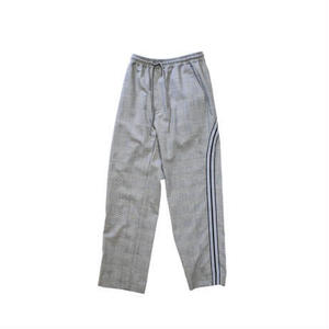 Line track pants - Glen check