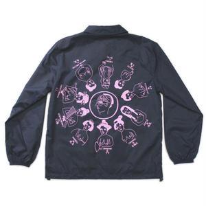 "SHUNTAROU TAKEUCHI × RYUHEI KOBOSHI / ""Oiran""Coach jacket - black"