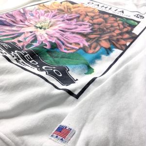 niche.USA / Flower Seeds Crew Neck Sweat - DAHLIA