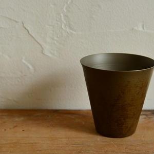 Onami  タンブラー90 (ウス茶オハグロ/クロ茶)