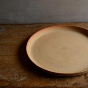 松本かおるさん プレート皿 19cm(1、2)
