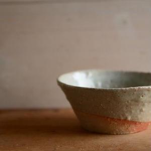 壷田和宏さん  藁灰釉 小鉢