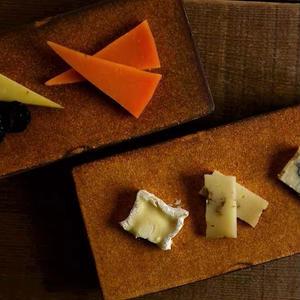 【5月30日以降発送】kei condoさん オリジナルチーズプレート  レクタングレとチーズのセット