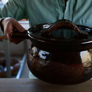 壷田和宏さん  土鍋(5.5合炊き)