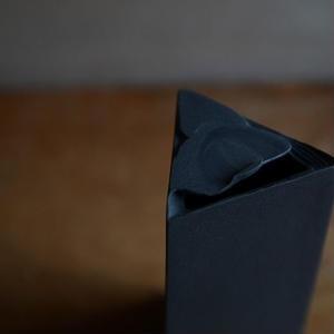 白石陽一さん 花器(三角柱)