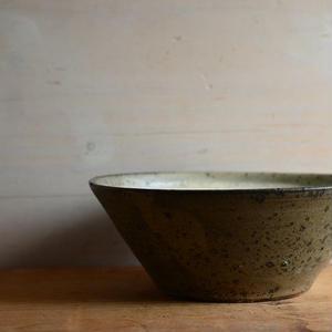 関口憲孝さん  粉引(掛け分け)6寸鉢