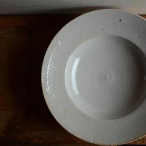村上雄一さん 微貫入スープ皿 8寸