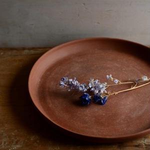 松本かおるさん プレート皿 22.5cm(1、2)