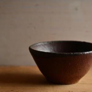 加地 学さん  南蛮焼締 小鉢(A68)