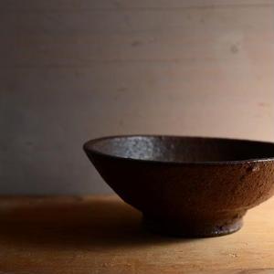 加地 学さん  南蛮焼締 鉢(121)