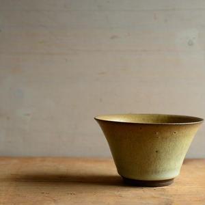大江憲一さん フリーカップ  (白濁釉)