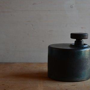 羽生直記さん  鉄のオイルランプ B1