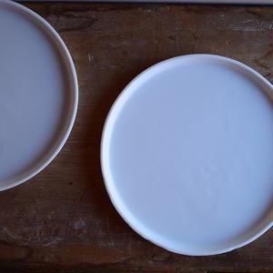 白石陽一さん 丸皿 B
