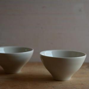 前田 育子さん  白磁小鉢