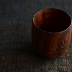宮下敬史さん  杉のカップ