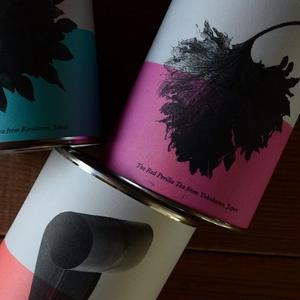 tabel 野草茶の缶かん リーフ(赤紫蘇茶/カキドオシとハトムギ茶/月桃茶)