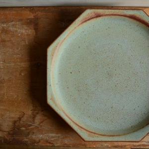 鯨井円美さん 八角8寸皿
