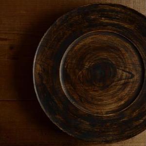 宮下敬史さん  楢のリム皿