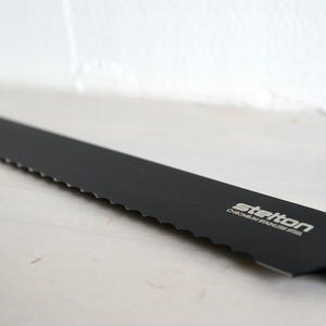 【再入荷】STELTON ピュアブラック・ブレッドナイフ