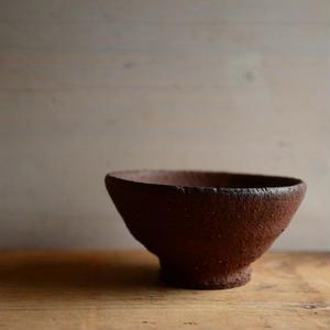 加地 学さん  南蛮焼締 茶碗(16)