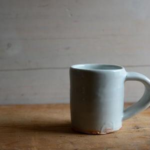 壷田和宏さん  白磁 マグカップ(A~D)
