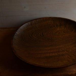 宮下敬史さん  欅の楕円皿