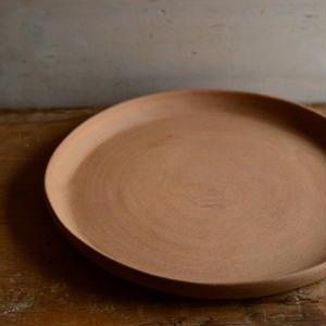 松本かおるさん プレート皿 22.5cm(3、4)