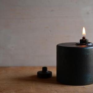 羽生直記さん  鉄のオイルランプ  D