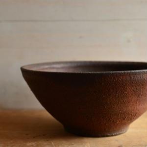 加地 学さん  南蛮焼締 鉢(No.470)