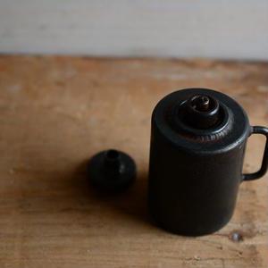 羽生直記さん  鉄のオイルランプ