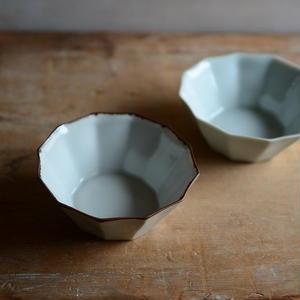 渡辺キエさん  錆ライン 12角豆鉢